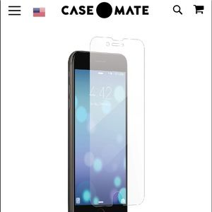 Case-Mate 2-Pack Glass Tempered Screen Protector